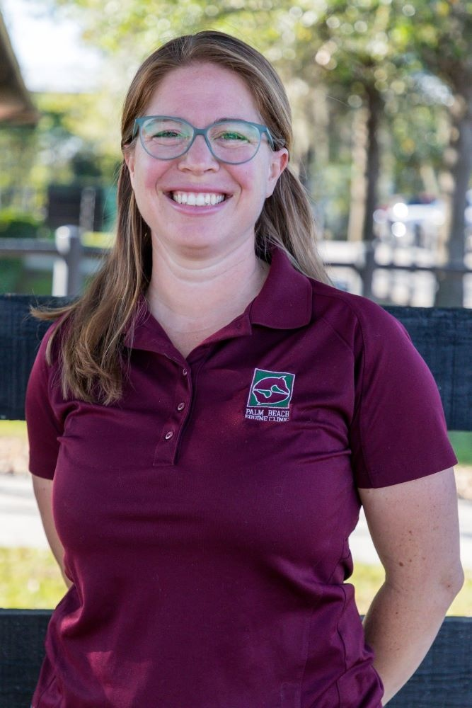 Palm Beach Equine Clinic Veterinarian Janet Greenfield