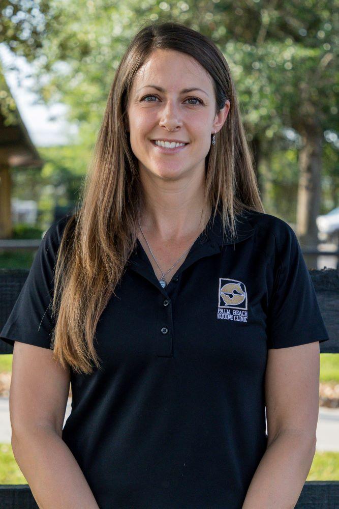 Selina Watt Palm Beach Equine Clinic Veterinarian
