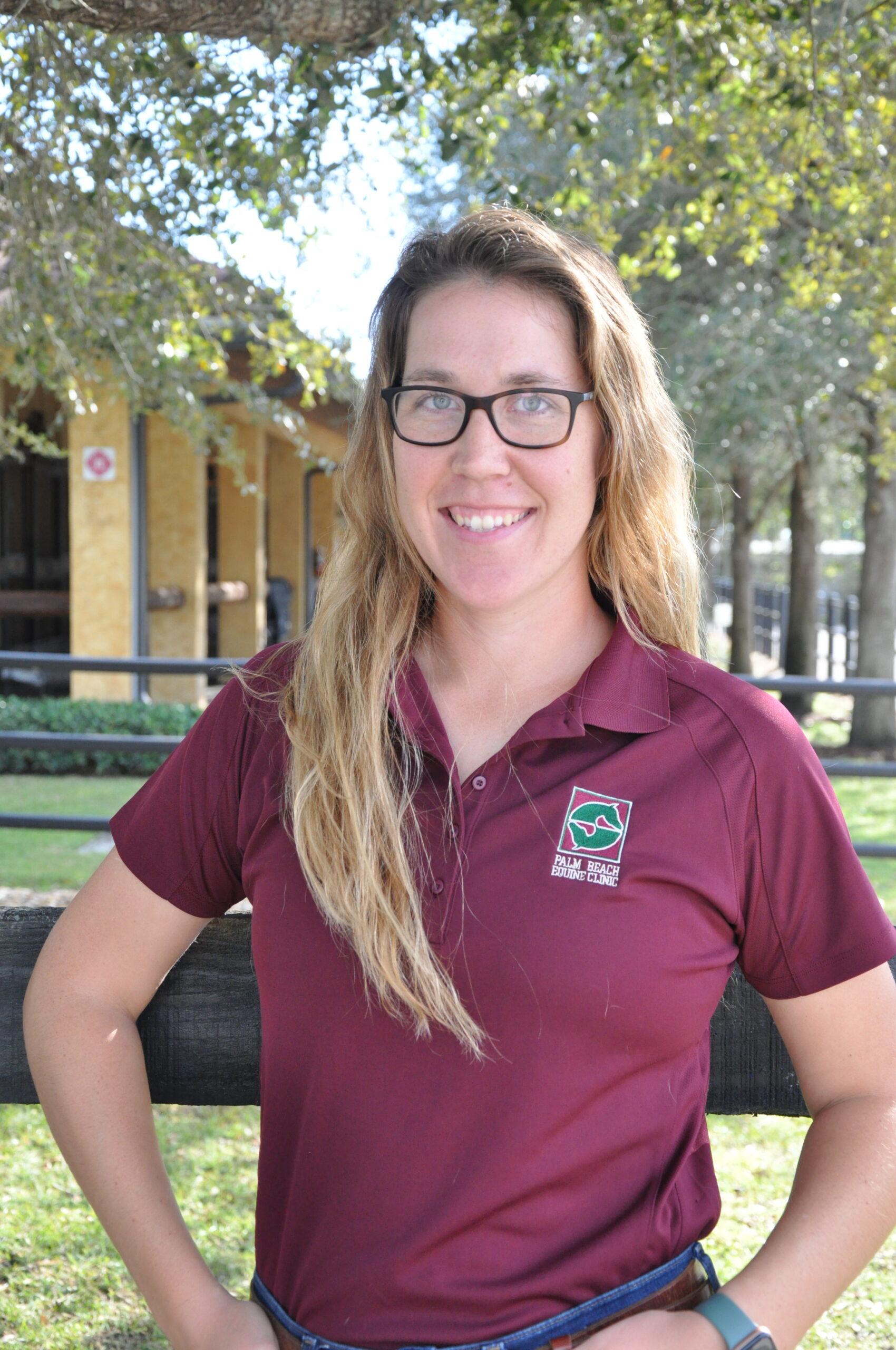 Gretchen Syburg Palm Beach Equine Clinic veterinarian