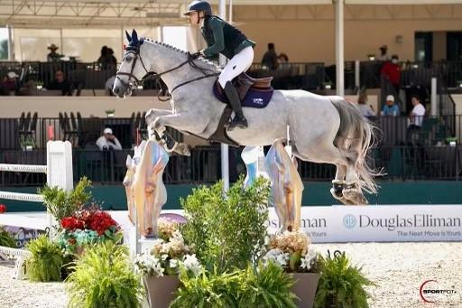 Sebastian - Serena Marron - Sportfot photo from Winter Equestrian Festival 2021 in Wellington Florida 2