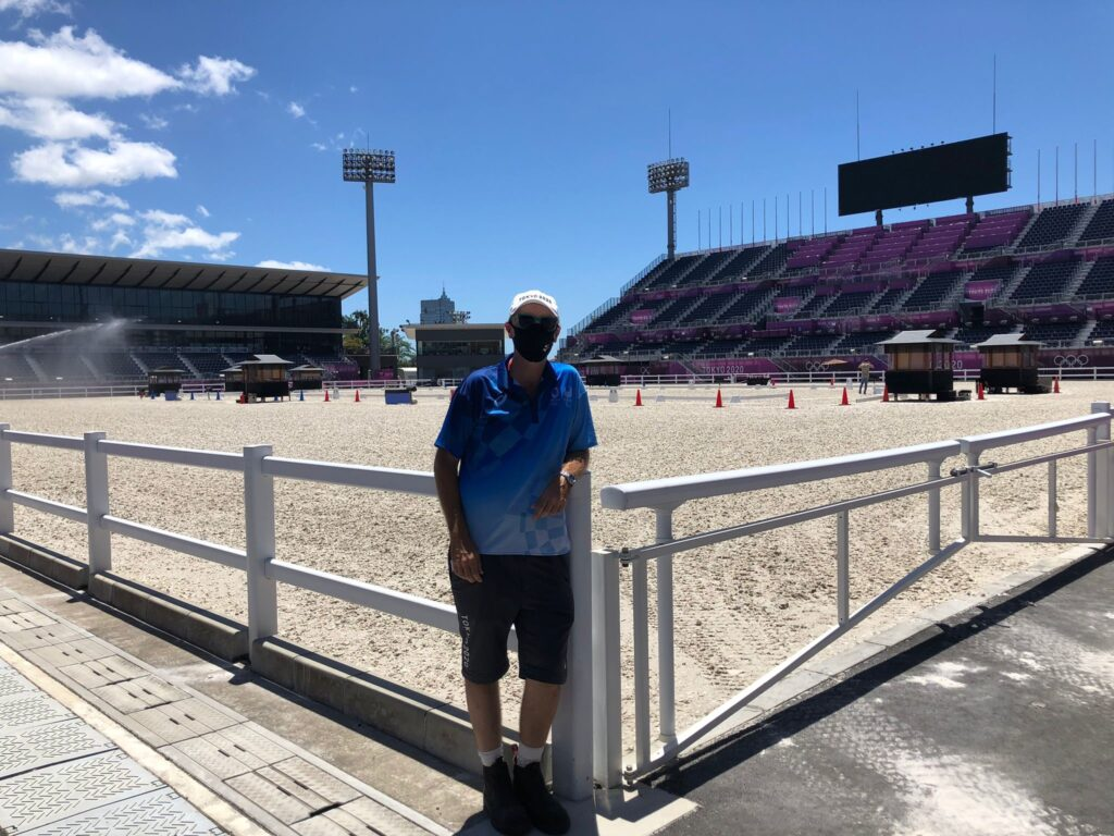 Combating the Heat at Equestrian Park with Tokyo Olympics Veterinary Services Supervisor Dr. Christopher Elliot