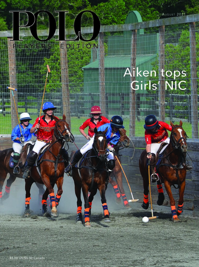 Polo Players Edition magazine August 2021 understanding anhidrosis in horses