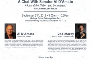 A Chat With Senator Al D'Amato Event