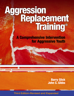 Aggression Replacement Training by Research Press