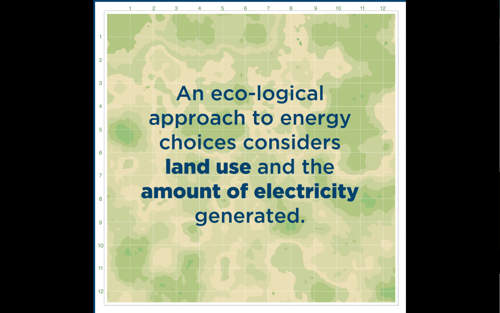 Land Use of Electricity Generation Technologies