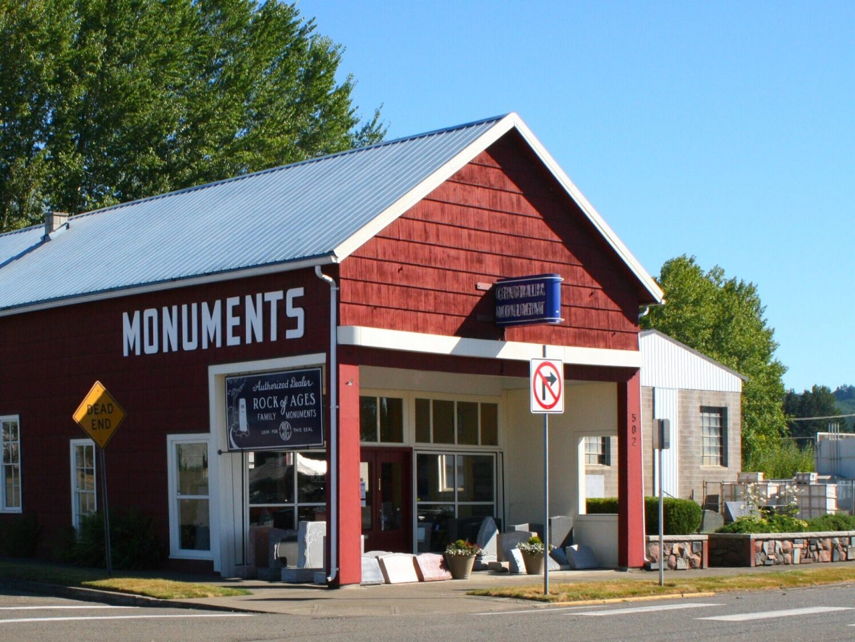 Centralia Monument store front