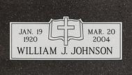 A marker for William Johnson