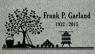 A marker for Frank Garland