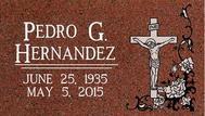 A marker for Pedro Hernandez