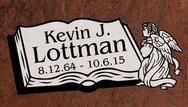 A marker for Kevin Lottman