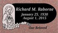 A marker for Richard Raborne