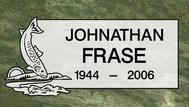 A marker for Jonathan Frase