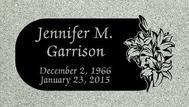A marker for Jennifer Garrison