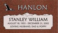 A marker for Stanley William