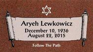A marker for Aryeh Lewkowiez