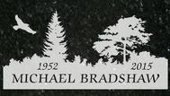A marker for Michael Bradshaw