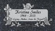 A marker for Kristina Smiles