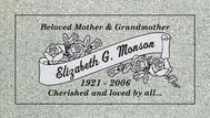 A marker for Elizabeth Monson