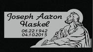 A marker for Joseph Aaron Haskel