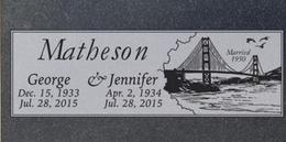 A companion marker for the Matheson couple