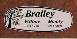 A companion marker for the Braileys