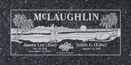 A companion marker for the McLaughlin couple