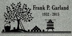 A companion marker for Frank Garland