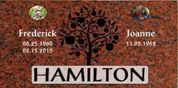 A companion marker for the Hamiltons