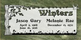 A companion marker for the Winters couple