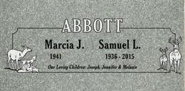 A companion marker for the Abbotts