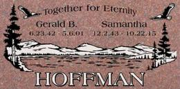 A companion marker for the Hoffman couple