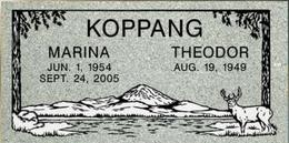 A companion marker for the Koppangs