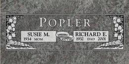 A companion marker for the Popler couple