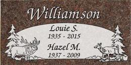 A companion marker for the Williamsons