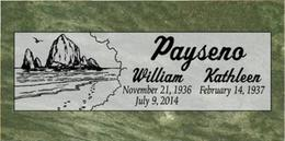 A companion marker for the Paysenos