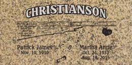 A companion marker for the Christianson couple