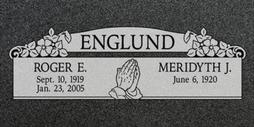 A companion marker for the Englunds