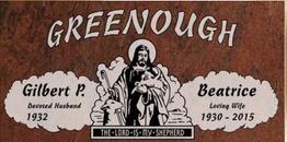 A companion marker for the Greenough couple