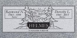 A companion marker for the Helmes couple