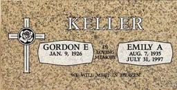 A companion marker for the Kellers