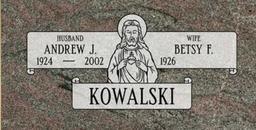 A companion marker for the Kowalski couple