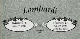 A companion marker for the Lombardi couple