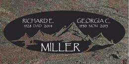 A companion marker for the Miller couple
