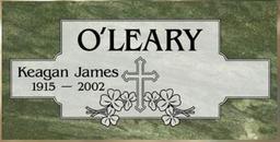 A companion marker for Keagon O'Leary