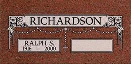 A companion marker for Ralph Richardson