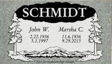 A companion marker for the Schimidt couple