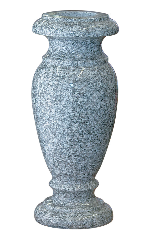 4 x10 granite vase