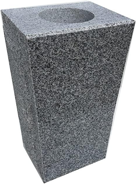 Tapered Granite Vase