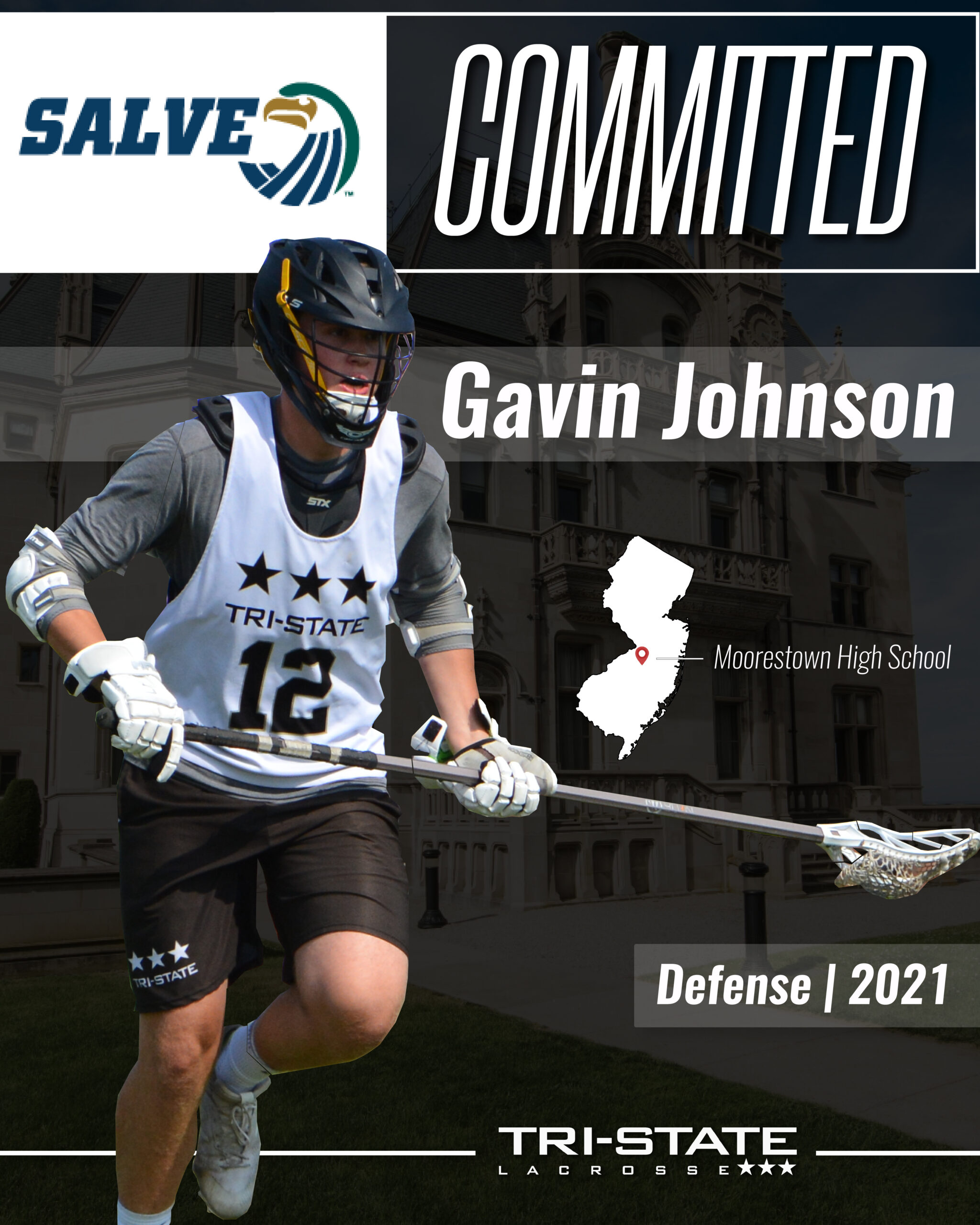 Gavin Johnson, Moorestown - Salve Regina