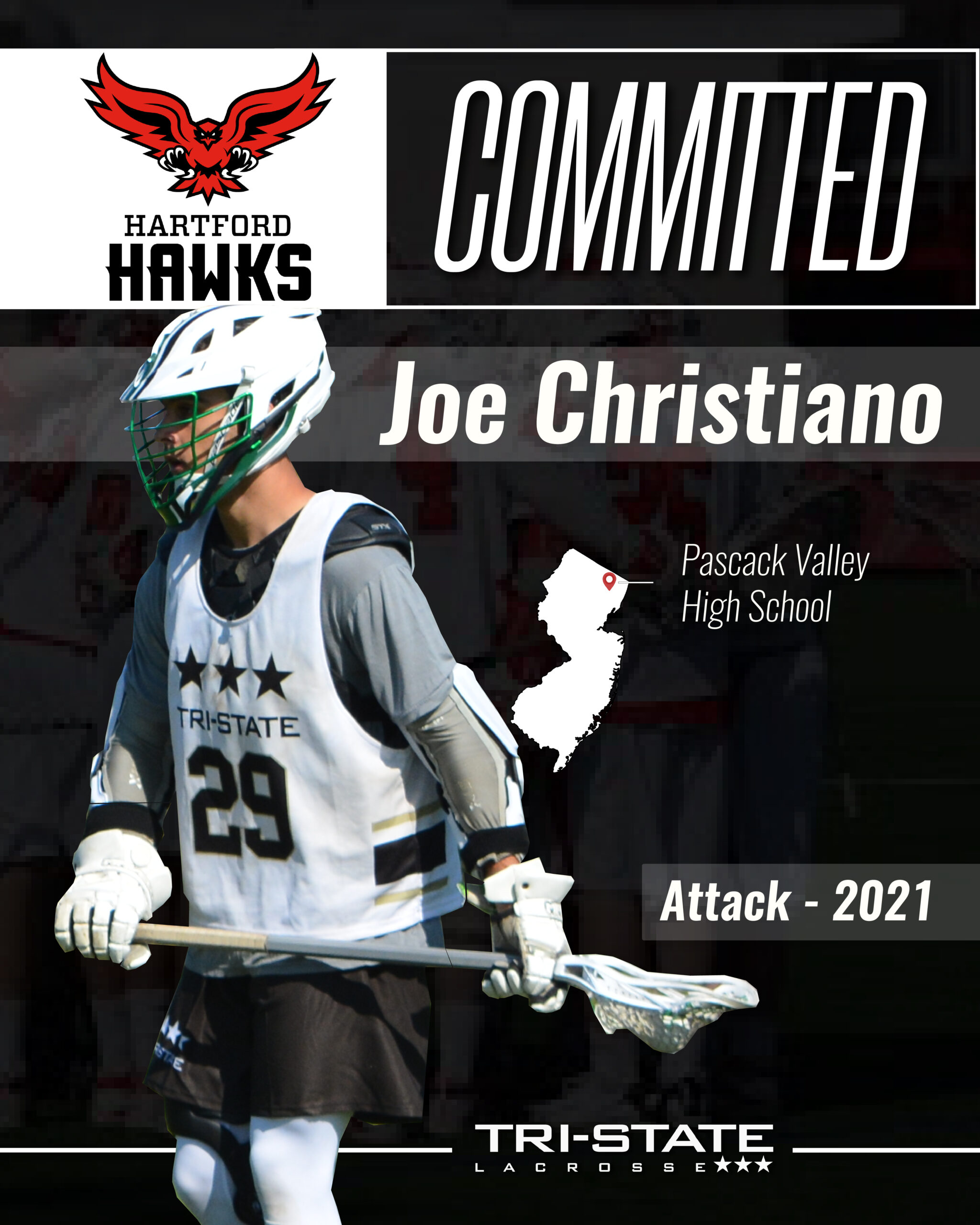 Joe Christiano, Pascack Valley - Hartford